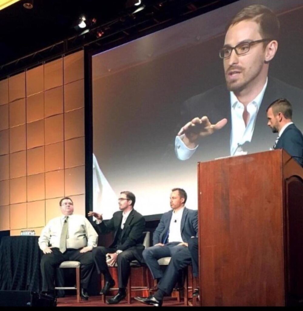 NNN Capital Founder Mark Thompson speaking at CoStar (NASDAQ: CSGP) annual company retreat.